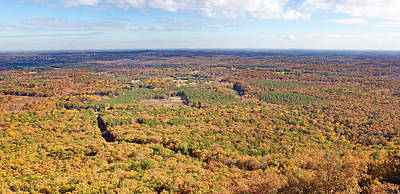 Crowders Mountain Overlook Panorma Poster