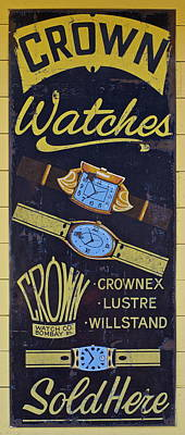 Crown Watches Poster by Frozen in Time Fine Art Photography