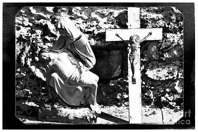 Crucified Poster by John Rizzuto