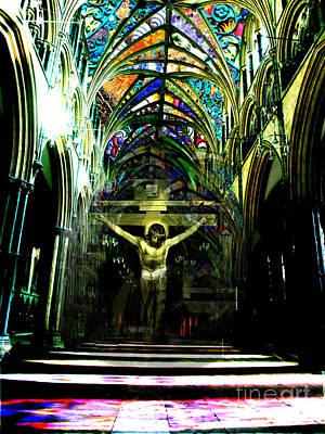 Crucifix Reflexions Poster