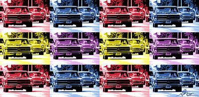 Cruise Pop 1 Poster by Gordon Dean II