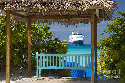 Cruise View - Bahamas Poster by Brian Jannsen