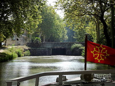 Cruising Le Canal Du Midi Poster by France  Art