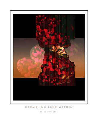 Crumbling Poster by Steve Godleski
