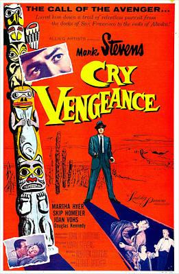 Cry Vengeance, Us Poster,  Mark Stevens Poster by Everett