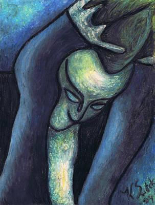 Crying Woman Poster by Kamil Swiatek