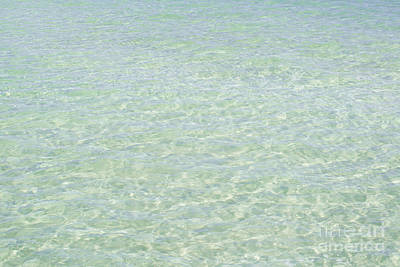 Crystal Clear Atlantic Ocean 2 Key West Poster