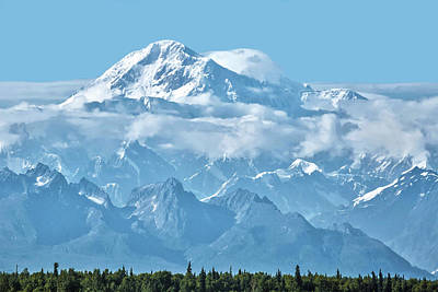 Crystal Clear Mt. Mckinley Poster