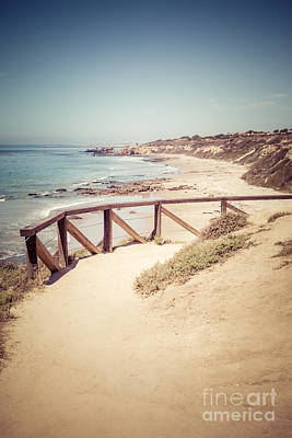Crystal Cove Overlook Picture Poster by Paul Velgos