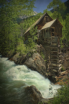 Crystal Mill Poster by Priscilla Burgers