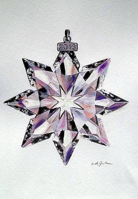 Crystal Ornament Poster