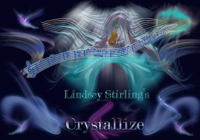 Crystallize Poster by Becca Buecher
