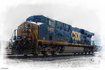 Csx 5402 Engine IIi Poster by J M Lister