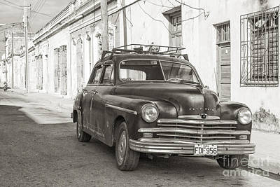 Poster featuring the photograph Cuba Cars I by Juergen Klust