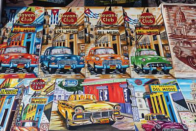 Cuba, Havana, Castillo De Los Tres Poster by Walter Bibikow