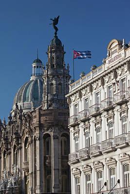 Cuba, Havana, Havana Vieja, Dome Poster