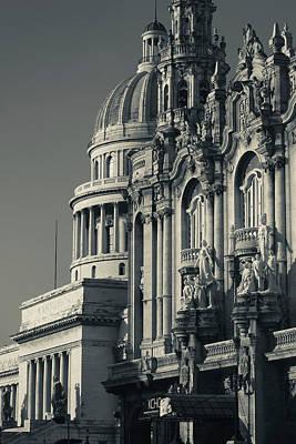 Cuba, Havana, Havana Vieja, Gran Teatro Poster