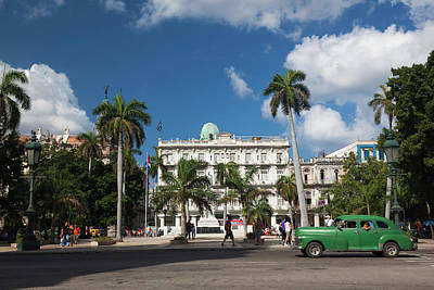 Cuba, Havana, Havana Vieja, The Parque Poster