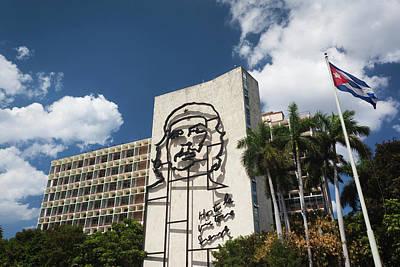 Cuba, Havana, Vedado, Plaza De La Poster