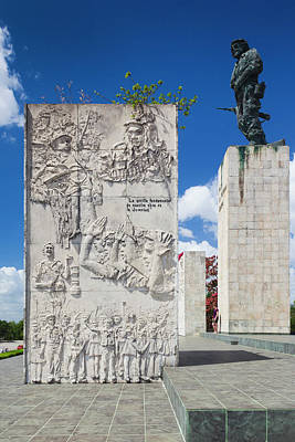 Cuba, Santa Clara Province, Santa Poster by Walter Bibikow
