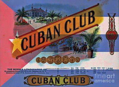 Cuba Vintage Poster