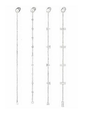 Cufflink Bracelets Version 1 Poster