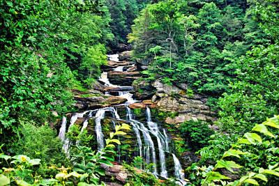 Cullasaja Falls Poster by Kenny Francis