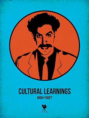 Cultural Learnings Poster by Naxart Studio