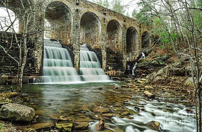 Cumberland Waterfall Poster by Debbie Green