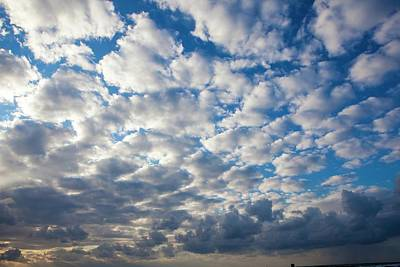 Cumulus Cloudscape Poster by Photostock-israel