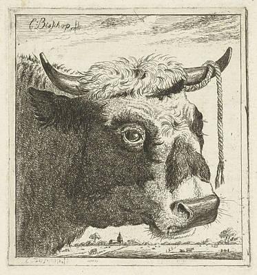 Cup Bull Rope Hear, Print Maker Cornelis Bisschop Poster by Artokoloro