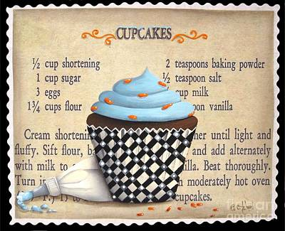Cupcake Masterpiece Poster
