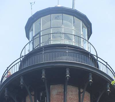 Poster featuring the photograph Currituck Beach Light by Cathy Lindsey