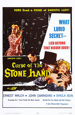 Curse Of The Stone Hand, Us Poster, Top Poster by Everett