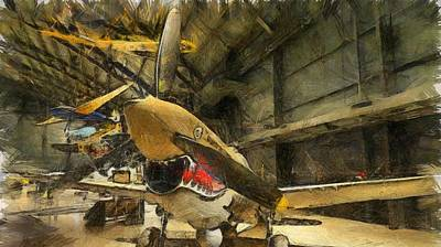 Curtiss P40 Warhawk Poster by Dan Sproul