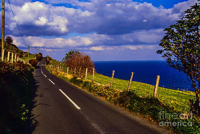 Cushendun Ballycastle Coast Road Poster by Thomas R Fletcher