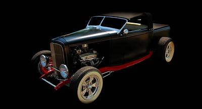 Vintage Cars Poster featuring the photograph Custom Hot Rod by Aaron Berg