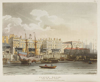 Custom House Poster by British Library