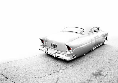 Custom Metal - 1953 Chevy - Chopit Kustoms - Metal And Speed Poster