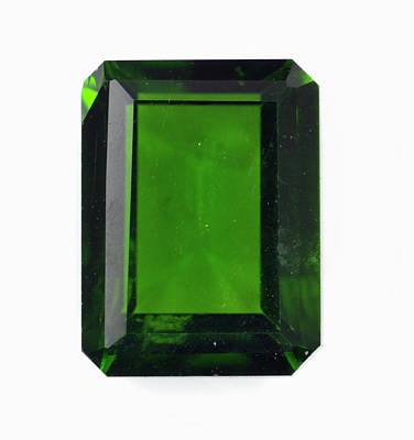Cut Diopside Gemstone Poster by Dorling Kindersley/uig