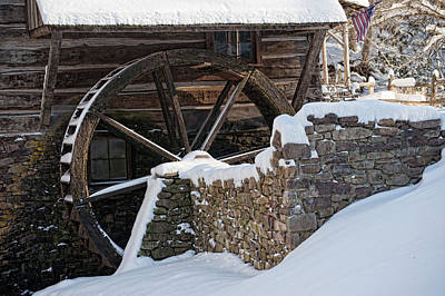Cutalossa Water Wheel Poster