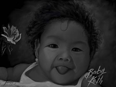 Cute Baby Poster by Twinfinger