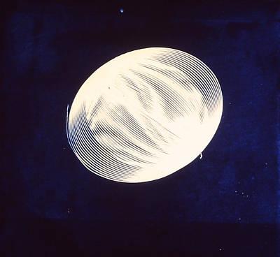 Singular Cyanotype Poster