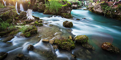 Cydnus River Flowing Through Tarsus Poster by Reynold Mainse