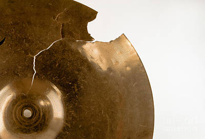 Cymbal On White Poster