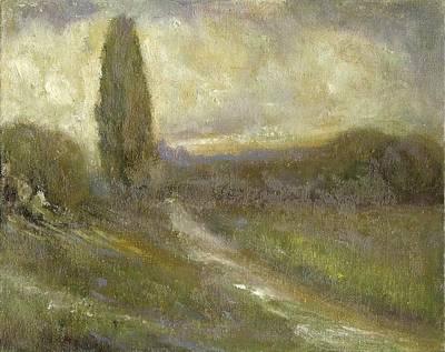 Cypress Landscape Poster