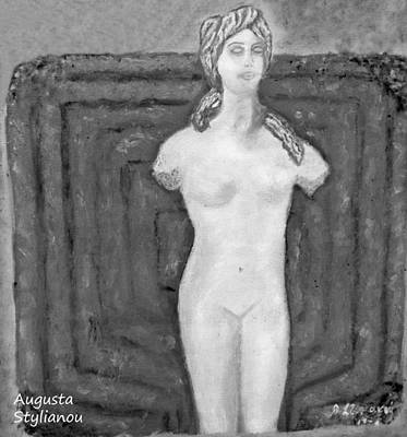 Cyprus  Aphrodite Poster by Augusta Stylianou