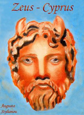 Cyprus - Zeus Poster by Augusta Stylianou