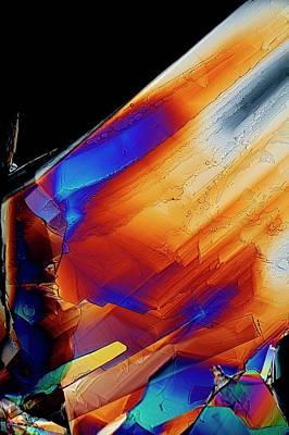 Cysteine Crystals Poster by Antonio Romero