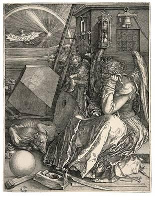 D Rer Albrecht, Melencolia Imelancholia Poster by Everett
